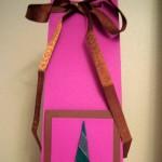 Itsetehty lahjapaketti