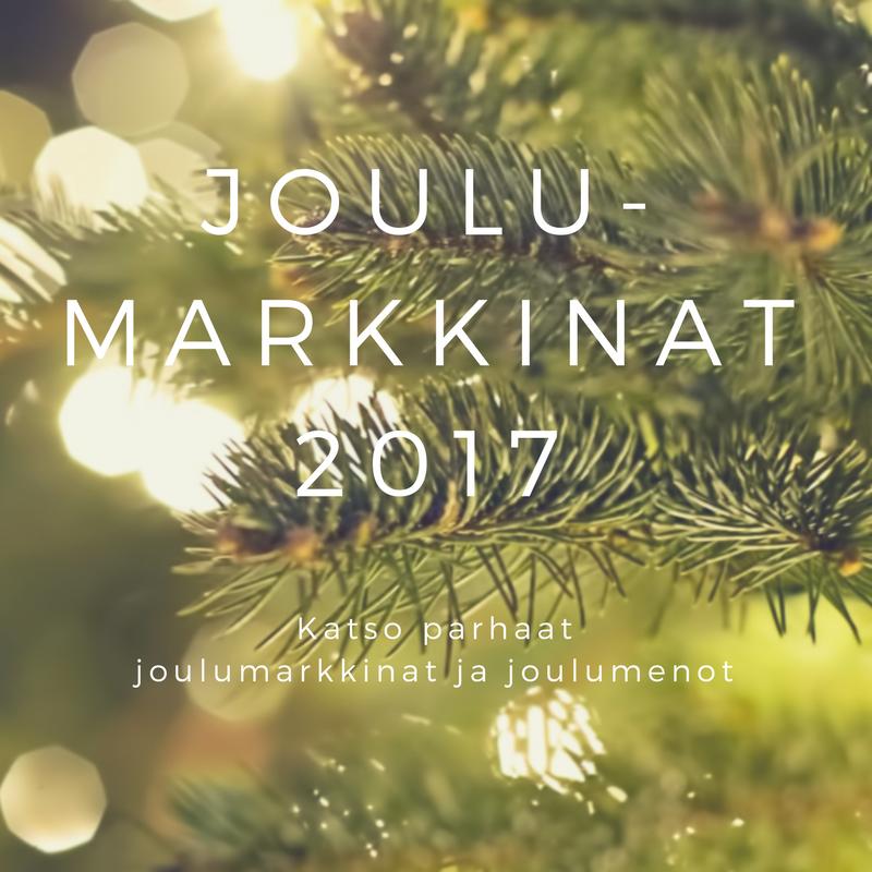 Joulumarkkinat ja joulumenot Suomessa