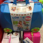 Matkalaukku lapselle lahjaksi
